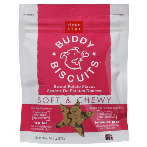 Cloud Star Sweet Potato Chewy Buddy Biscuits