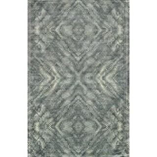 Francis Fog Grey Rug (3'3 x 5'3)