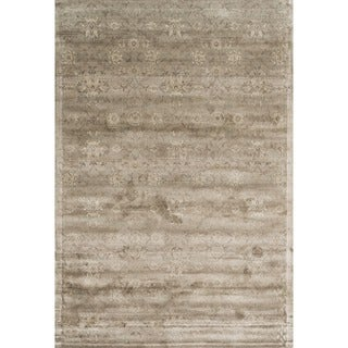 Francis Taupe Viscose Rug (3'3 x 5'3)