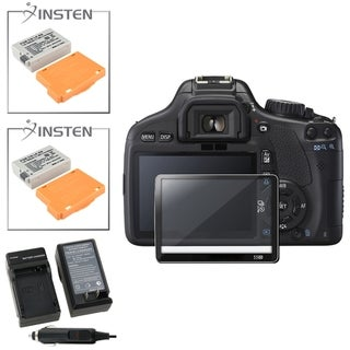 BasAcc Charger/ Li-ion Battery/ Screen Protector for Canon EOS 550D