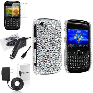 BasAcc Case/ Screen Protector/ Chargers for BlackBerry Curve 8520