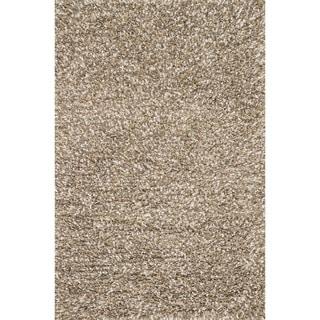 Hand-woven Baxter Stone Shag Rug (7'6 x 9'6)