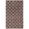 Hand-tufted Laren Brown New Zealand Wool Rug (5' x 8')