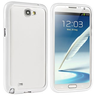 BasAcc White Hybrid Case for Samsung Galaxy Note II N7100