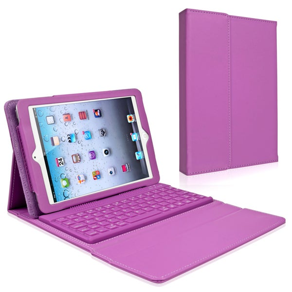 INSTEN Leather Tablet Case Cover Bluetooth Adapter for Apple iPad Mini 1/ 2 Retina Display