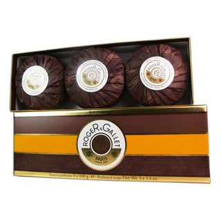 Roger & Gallet 'Bois d'Orange' Women's 3.5-ounce Perfumed Soaps (Pack of 3)