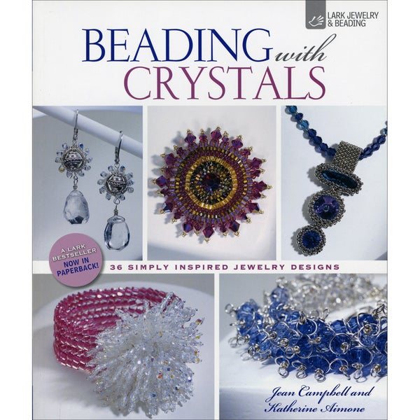 Lark Books-Beading With Crystals