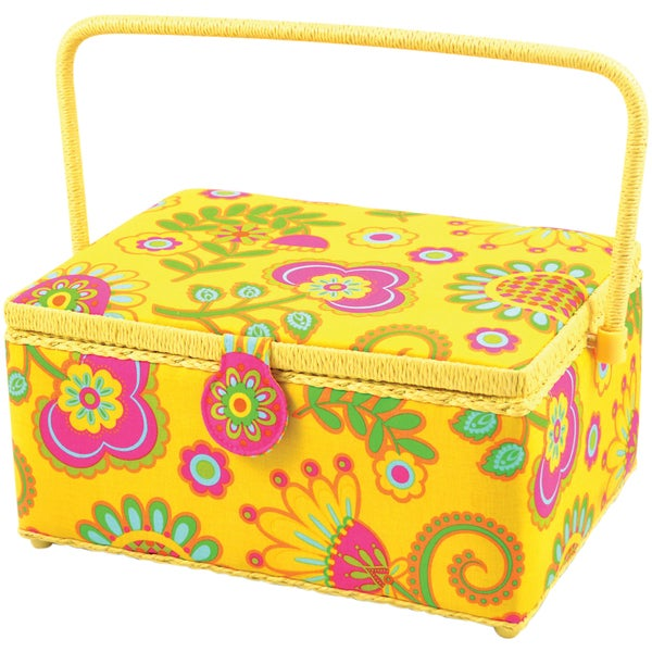 """Sewing Basket Rectangle-12-1/2""""X9-1/2""""X6-3/4"""""""
