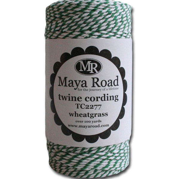 Twine Cording 100 Yards/Roll-Wheatgrass