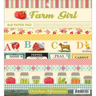 Farm Girl Paper Pad 8