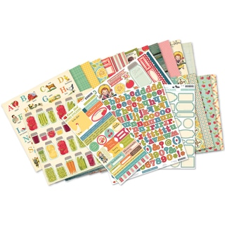 "Farm Girl Collection Kit 12""X12""-"