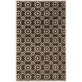 Hand-tufted Hasselt Green Wool Rug (8' x 11')