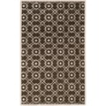 Hand-tufted Hasselt Green Wool Rug (5' x 8')