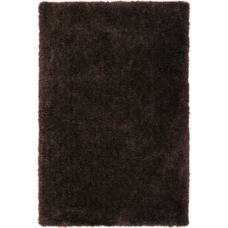 Hand-tufted Zwolle Coffee Bean Brown Soft Plush Shag Rug (3'3 x 5'3)
