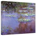 Claude Monet &#39;Sea Roses II&#39; Gallery Wrapped Canvas