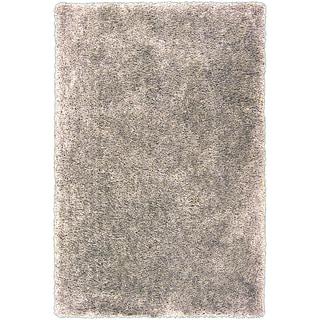 Hand-tufted Gouda Beige Soft Plush Shag Rug (5' x 7'6)