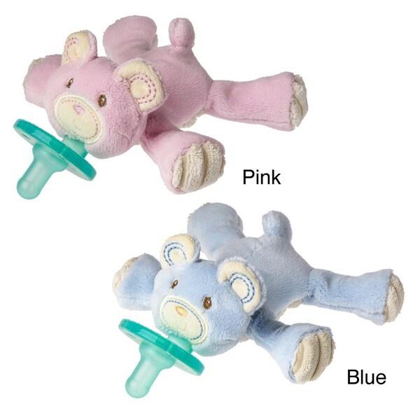 WubbaNub Thready Teddy Plush Pacifier