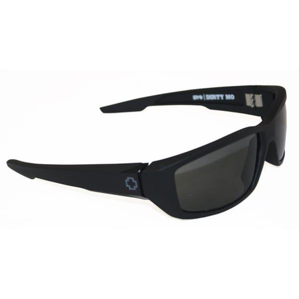 Spy Optic Men's 'Dirty Mo' Matte Black Polarized Sunglasses