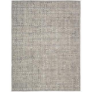 Barclay Butera Leather Heath Equestrian Rug (5'3 x 7'5) by Nourison