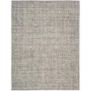 Barclay Butera Leather Heath Equestrian Rug (8' x 11') by Nourison