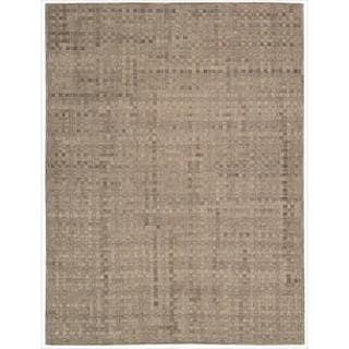 Nourison Barclay Butera Leather Chestnut Equestrian Rug (8' x 11')