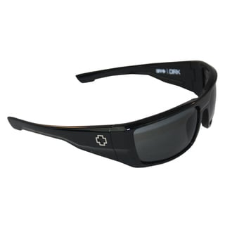 Spy Optic Men's 'Dirk' Shiny Black Wrap Sunglasses
