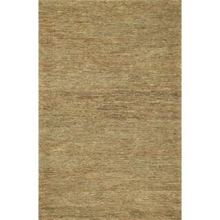 Hand-woven Natura Slate Jute Rug (3'6 x 5'6)