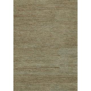 Hand-woven Natura Slate Jute Rug (7'10 x 11')