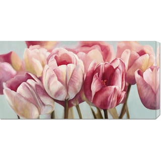 Cynthia Ann 'Printemps' Stretched Canvas