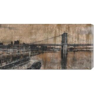 Dario Moschetta 'Brooklyn Bridge 1' Stretched Canvas