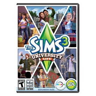 PC - The Sims 3 University Life