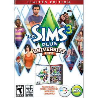 PC - The Sims 3 Plus University