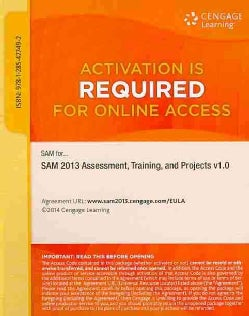 Sam Assessment, Training, and Projects V1.0 2013 Access Code (Other merchandise)