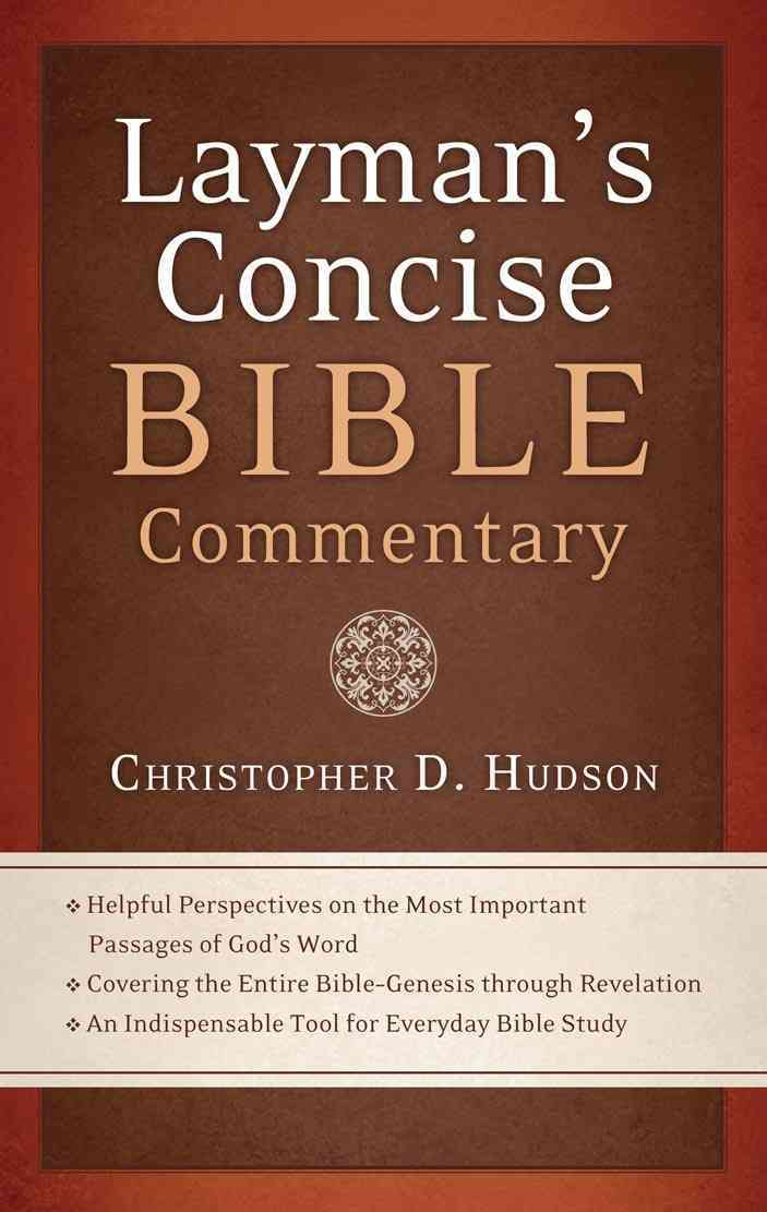 Layman's Concise Bible Commentary (Paperback)