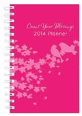 Count Your Blessings Planner Pink Cover 15-Month 2014 Calendar (Calendar)