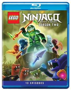 Lego Ninjago: Masters Of Spinjitzu Season Two (Blu-ray Disc)