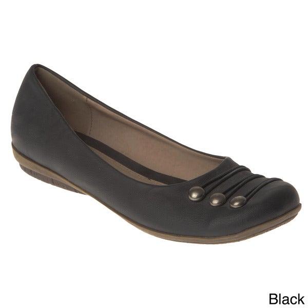 Henry Ferrera Women's Toe-cap Flats