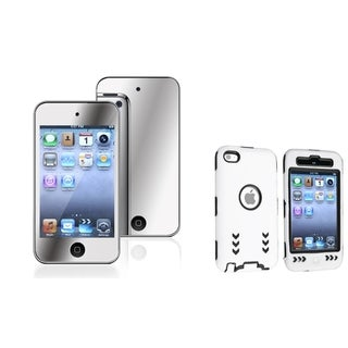 BasAcc Hybrid Case/ Screen Protector for Apple iPod Touch Generation 4
