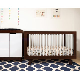 Babyletto Hudson Espresso/ White 3-in-1 Convertible Crib