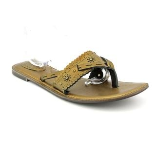 Fossil Women's 'Luella T-Strap' Leather Sandals