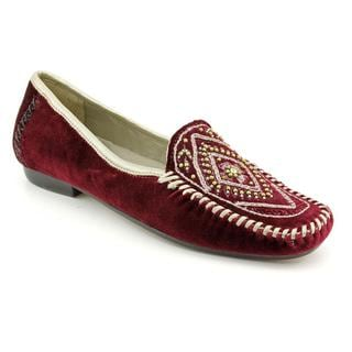 Robert Zur Women's 'Playa' Velvet Casual Shoes