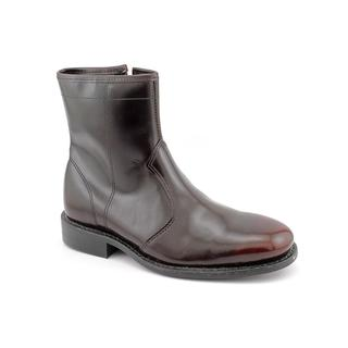 Leather Classics Men's 'Stuart' Leather Boots - Extra Wide (Size 7.5)