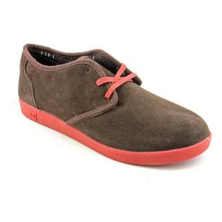 DC Men's 'Village Low' Leather Athletic Shoe