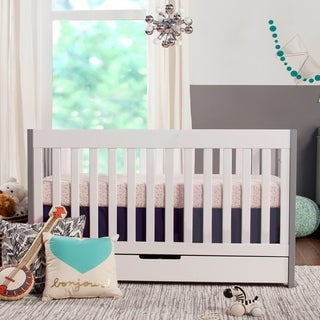 Babyletto Mercer 3-in-1 Convertible Crib in Espresso/White