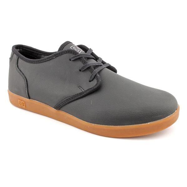 DC Men's 'Village Low' Leather Athletic Shoe