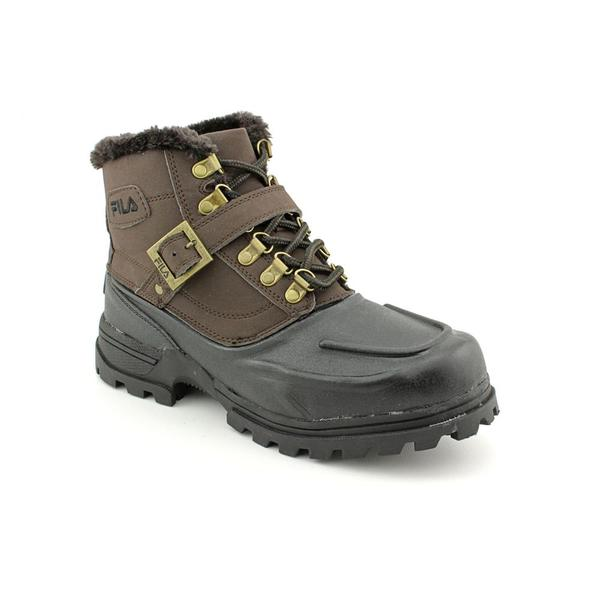 Fila Men's 'Weathertech Shearling Strap' Synthetic Boots
