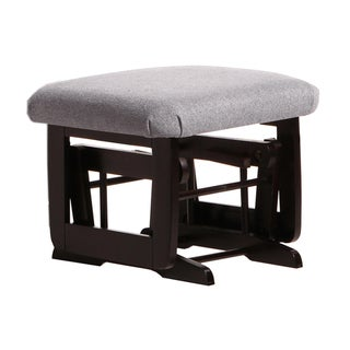 Dutailier Ultramotion Espresso/ Dark Grey Ottoman for Modern Gliders