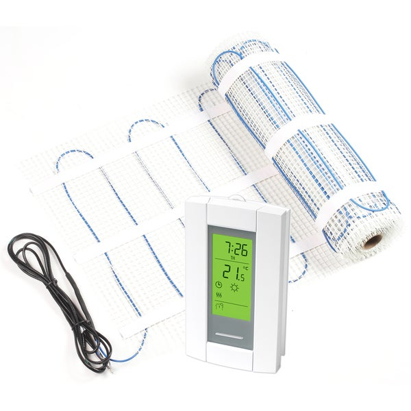 Radimo 20-foot Floor Heating Kit with Thermostat