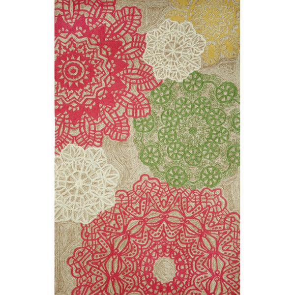 Lace Tile Outdoor Rug (7'6 x 9'6)