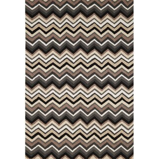Chevron Outdoor Rug (5' x 7'6)